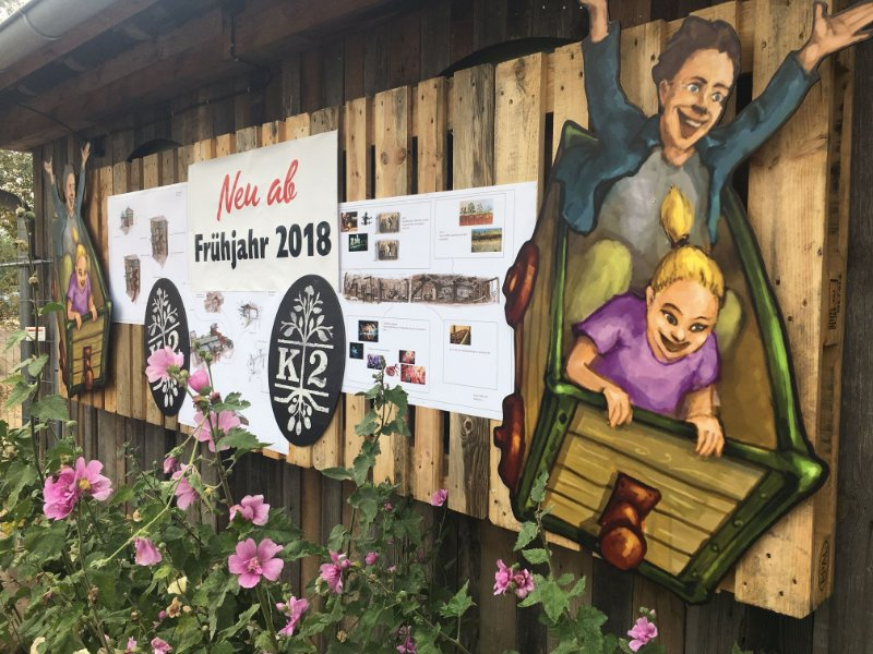 Teaser im Park (c) Karls Erlebnis-Dorf