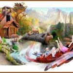 """Einen ersten Eindruck von """"Flyvende Ørn"""" gibt dieses Konzept (c) Legoland Billund"""