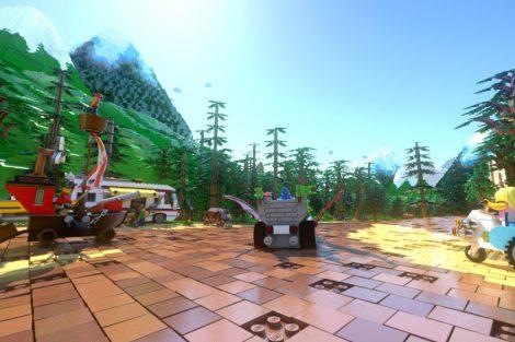 Szene aus der Fahrt (c) Legoland Deutschland