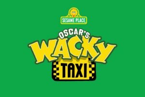 "Logo von ""Oscar´s Wacky Taxi"" (c) Sesame Place"