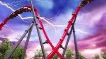 """Harley Quinn Crazy Coaster"" (c) Six Flags Discovery Kingdom"
