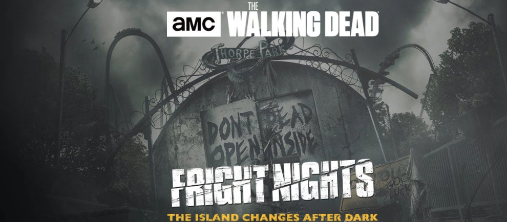 """""""The Walkind Dead"""" erstmals Teil der Fright Nights (c) Thorpe Park"""