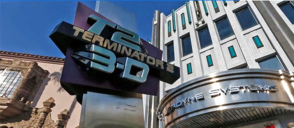 """Terminator 2: 3-D"" verlässt den Park (c) Universal Studios Orlando"