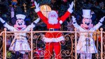 Mit Mickey und Minnie Weihnachten feiern © Disneyland Paris