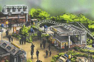 Eine Übersicht des neuen Bereichs (c) Djurs Sommerland