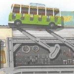 "Konzept ""Crazy Bus"" (c) Djurs Sommerland"