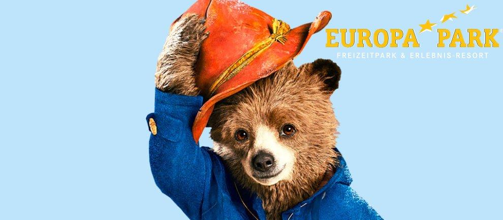 Paddington Bear kommt 2018 in den Europa-Park (c) Europa-Park / Vivendi / ThemePark Central