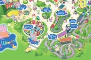 Paultons Park Peppa Pig World Karte