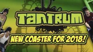 """""""Tantrum"""" kommt 2018 ! (c) Darien Lake"""