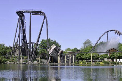 """""""Krake"""" im Heide Park Resort (c) Christopher Hippe / ThemePark Central"""