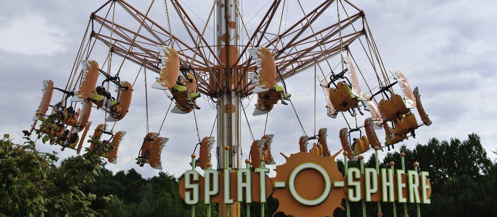"""Splat-O-Sphere"" im Movie Park Germany (c) Christopher Hippe / ThemePark Central"