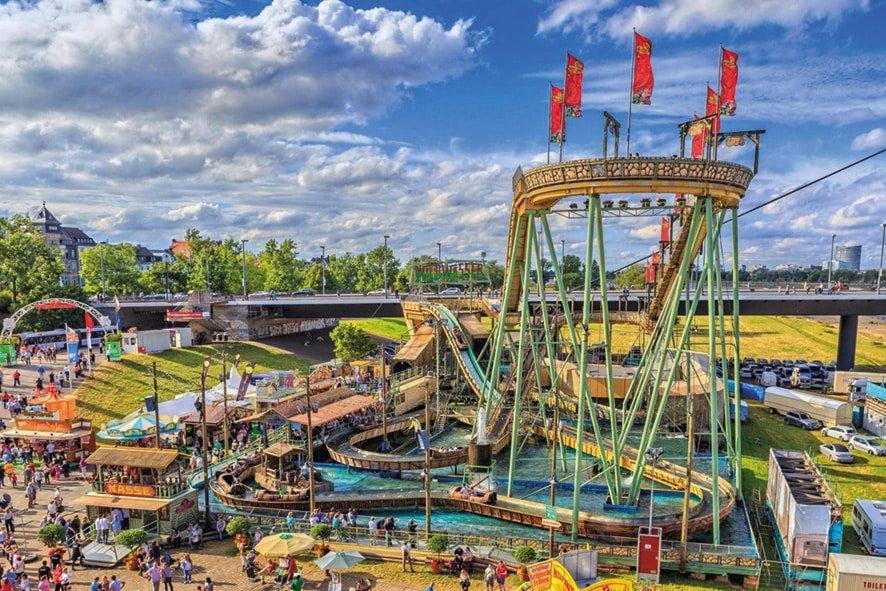 """Die """"Wildwasserbahn"""" im Skyline Park (c) Skyline Park"""
