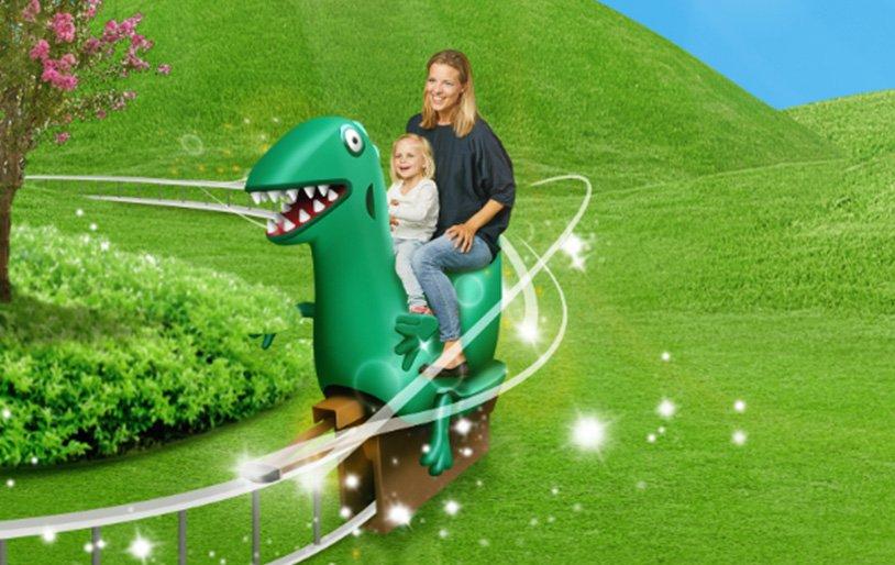 """Schorsch´s Dino Abenteuer"" (c) Heide Park Resort"