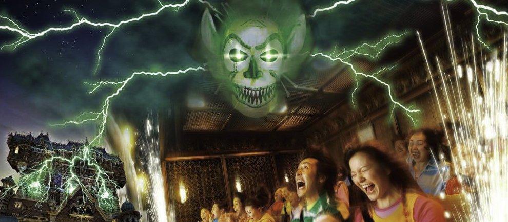 "Shiriki Utundu übernimmt den ""Tower of Terror"" (c) Tokyo Disneyland"
