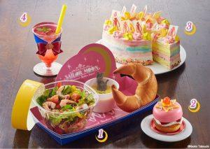 Sailor Moon Cafe Plate
