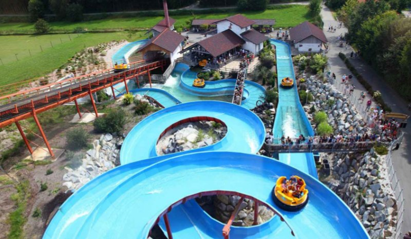 """Wildwasser Rafting"" (c) Bayern Park"
