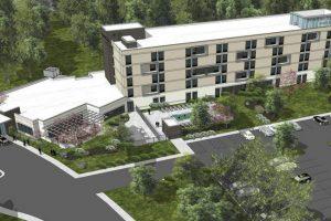 So wird das erste Hotel des Parks aussehen (c) Carowinds