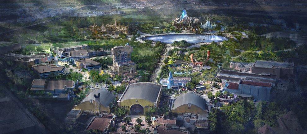 Übersicht der kommenden Erweiterung (c) Disneyland Paris