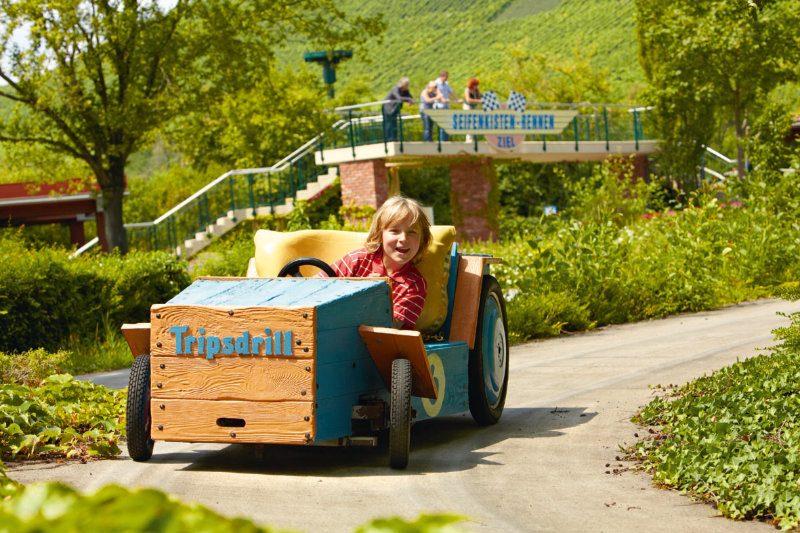 Seifenkisten Rennen (c) Erlebnispark Tripsdrill