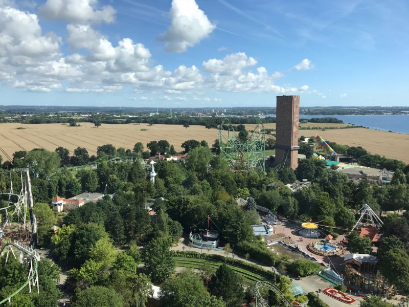 Auch von oben ist der Park eine Augenweide (c) Marcus Sauer / ThemePark-Central.de