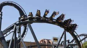 """""""Batman: The Ride"""" (c) Six Flags St. Louis"""