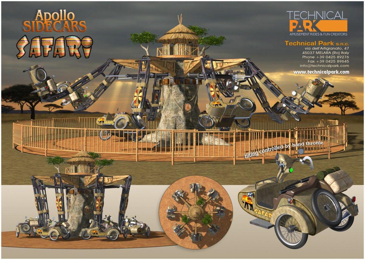 """Apollo Sidecar"" in Safari Optik (c) Technical Park"