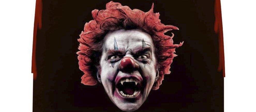 Grusel Clowns auf dem Wiener Prater (c) EOS Rides