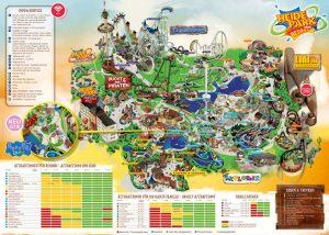 Der Parkplan der Saison 2018 (c) Heide Park Resort
