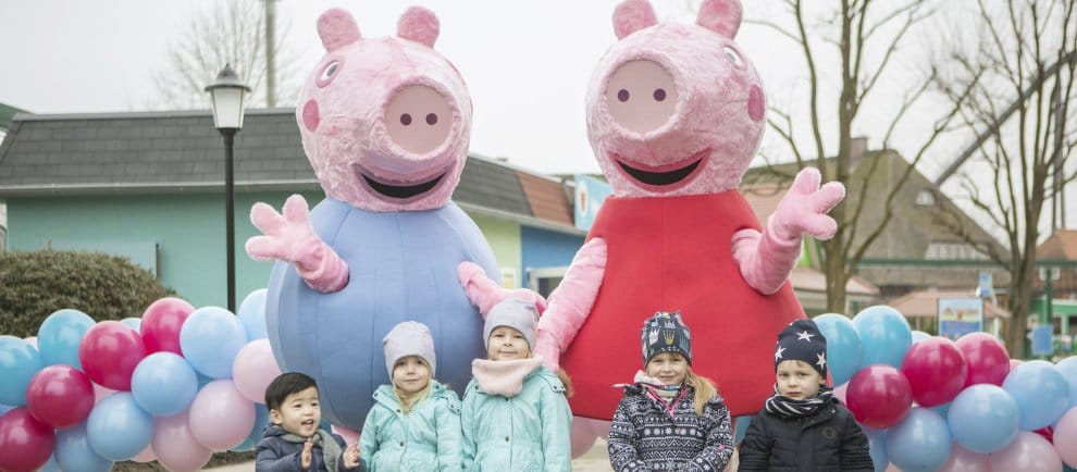 "Das ""Peppa Pig Land"" im Heide Park Resort ist offiziell eröffnet! (c) Heide Park Resort"