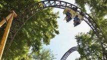 """""""Falcon"""" eine der Achterbahnen im Park (c) Duinrell"""
