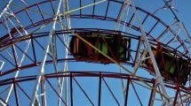 "Nun Geschichte! Der ""Galaxi Coaster"" im Palace Playland (c) Palace Playland"