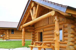 Das nächste Blockhaus wurde im Schwaben Park eröffnet (c) Schwaben Park