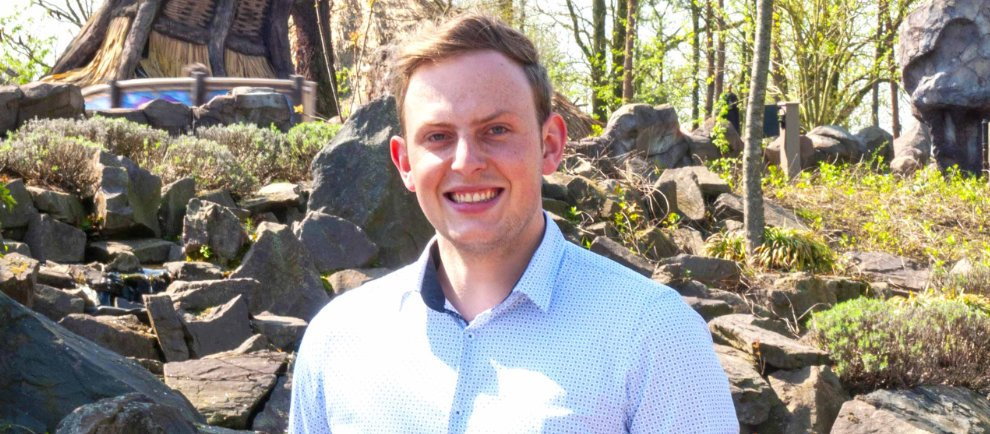 Teun Dielesen ist der neue Betriebschef des Parks (c) Toverland