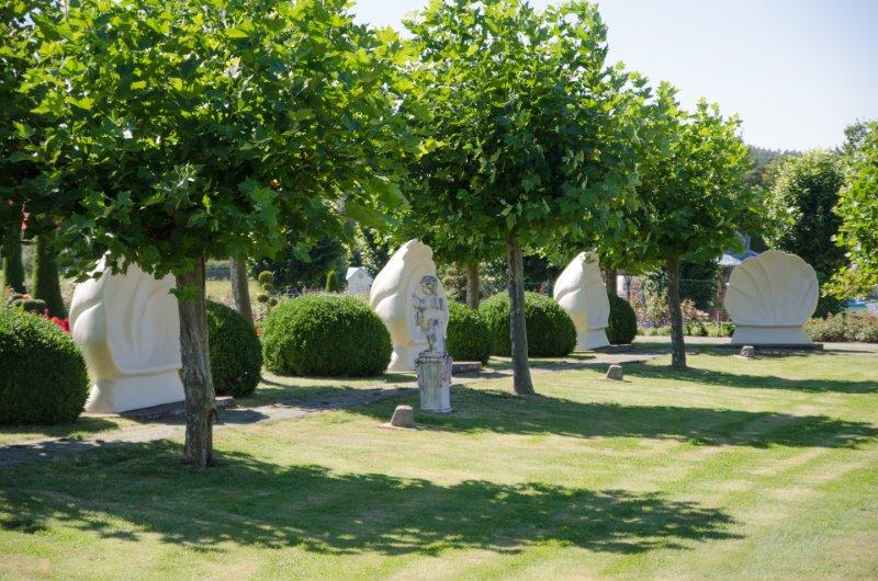 Auch Ruhe kann man im Park finden (c) Churpfalzpark