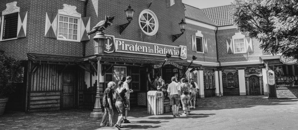 """Der damalige Eingang der """"Piraten in Batavia"""" (c) Maik Rimpl / ThemePark Central"""