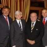 Roland Mack, Ulrich Damrau, Franz Mack, Jürgen Mack (c) Europa-Park Resort