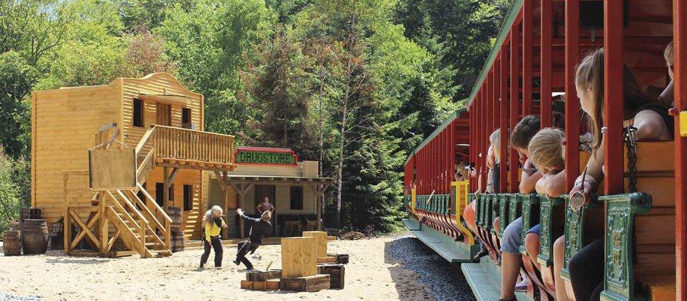 """In """"Yukon Creek"""" sorgt Sheriff Fuzzy für Recht und Ordnung (c) Fort Fun Abenteuerland"""
