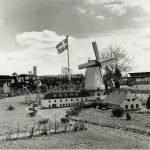 """Ein Bild vom """"Miniland"""" nach der Eröffnung im Jahr 1968 (c) Legoland Billund"""