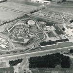 Luftaufnahme des Parks im Jahr 1968 (c) Legoland Billund