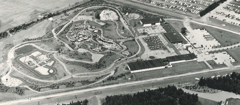 So sah der Park 1968 aus. (c) Legoland Billund