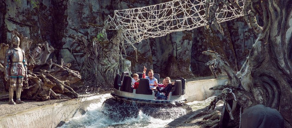 "Mystisch geht es bei ""Excalibur - The Secrets of the Dark Forest"" zu © Movie Park Germany"