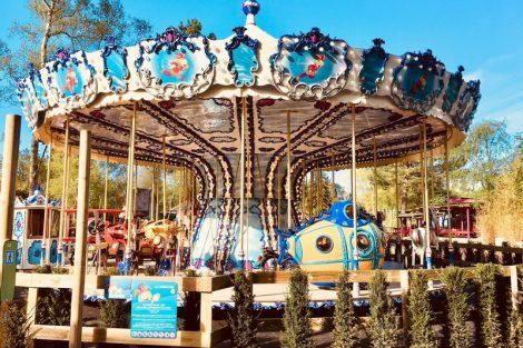 Das neue Karussell in seiner vollen Pracht © Parc Bagatelle