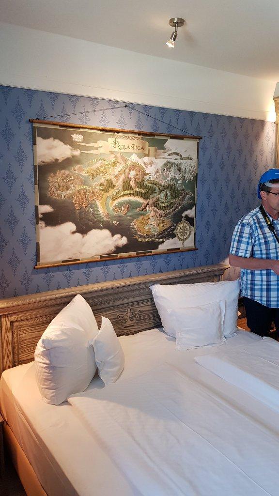 So werden die Zimmer aussehen (c) Manuel Waßmuth / ThemePark-Central.de