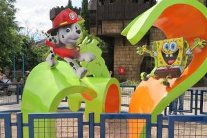 Nickelodeon Land im Parque de Atracciones in Madrid (c) https://freakplanetblog.blogspot.com