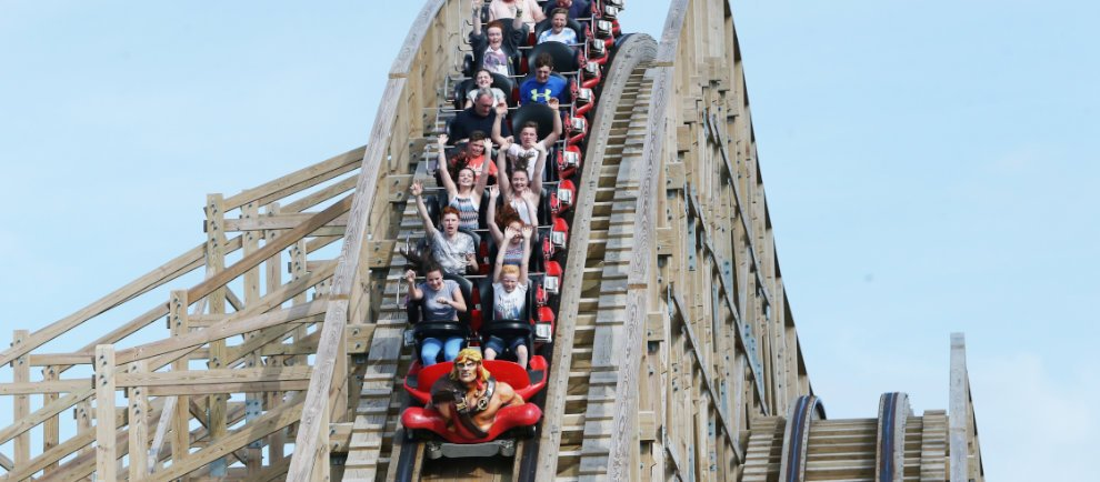 """The Cu Chulainn Coaster"" (c) Tayto Park"
