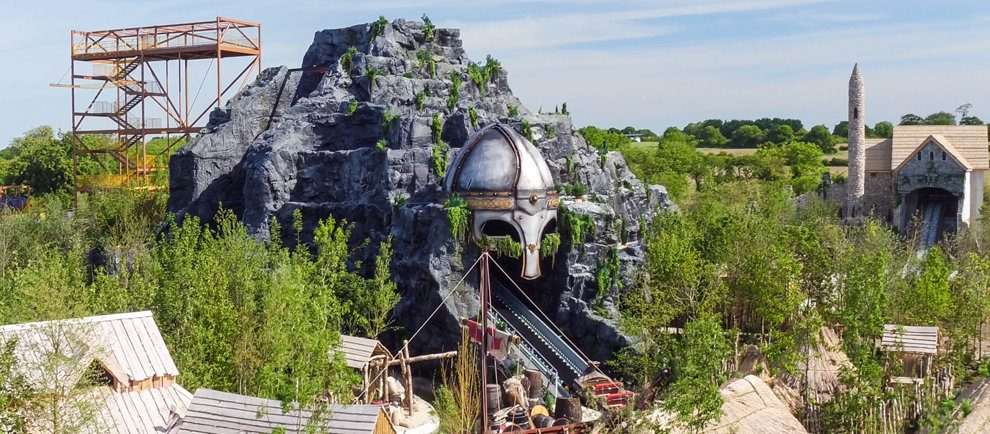 """""""The Viking Voyage"""" (c) Tayto Park"""