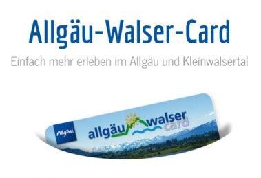 © Allgäu Walser Card