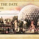 Die Einladung für die Eröffnung des französischen Themenbereichs © Europa-Park Resort