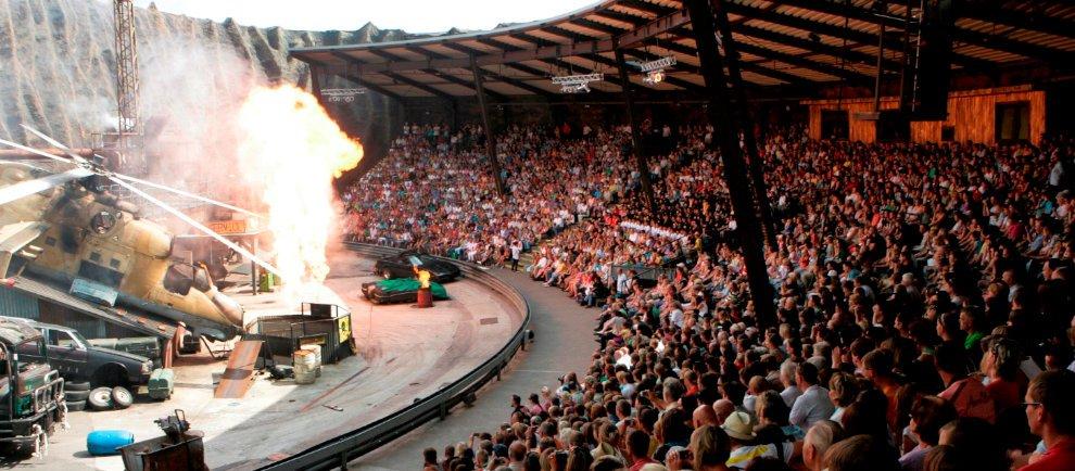 Stunt Show im Filmpark Babelsberg (c) Manfred Thomas