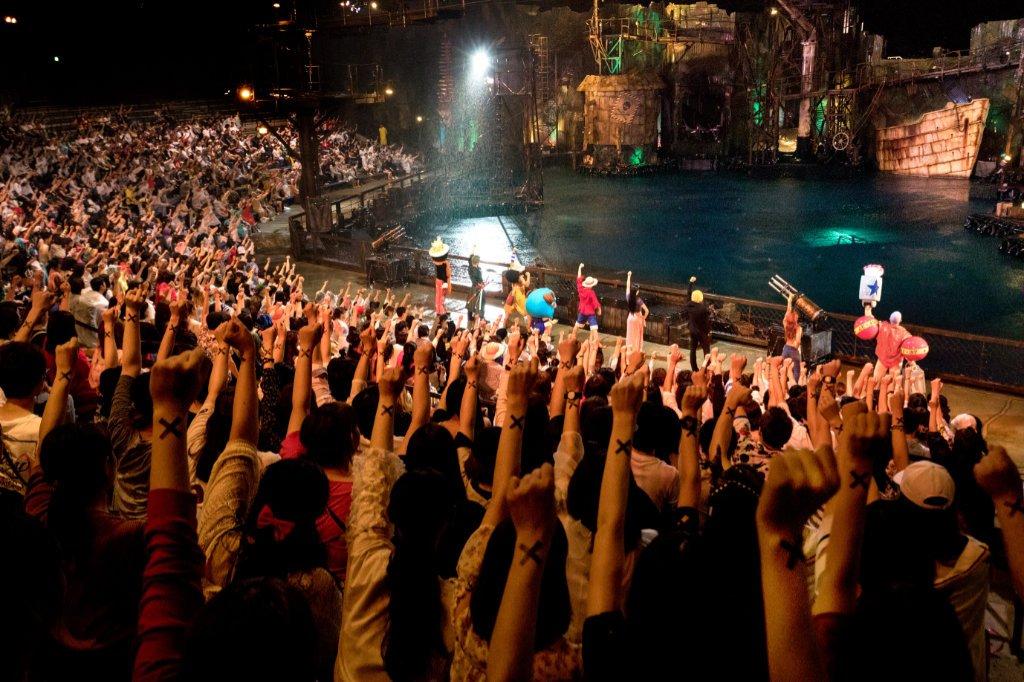"""""""One Piece Premier Show"""" (c) Universal Studios Japan"""